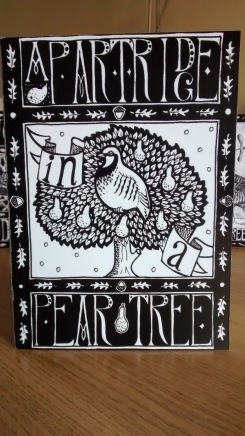 Partridge in a Pear Tree (Christmas card)