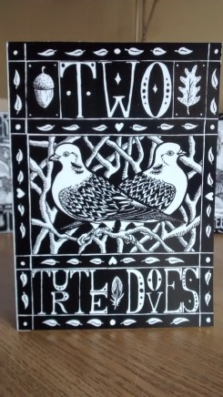Two Turtle Doves (Christmas card)